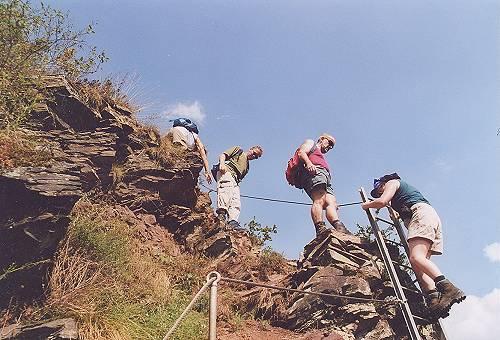 Klettersteig Calmont : Bremm an der mosel in calmont region mehr als